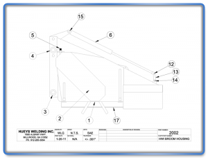 Broom Model 26-46 Housing Schematic