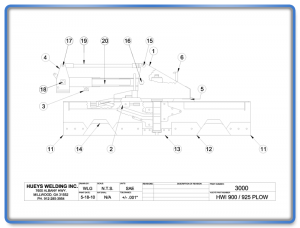 Plow Model 900 Schematic