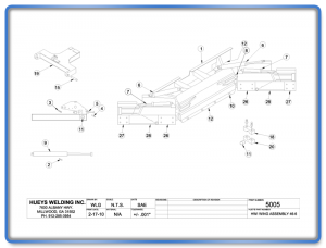 Wing Model 46 Articulating Schematic